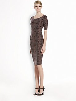 Gucci - Jacquard Lace Dress