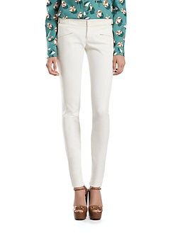 Gucci - Stretch Cotton Skinny Pants