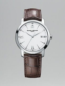 Baume & Mercier - Classima Stainless Steel Watch w/Date