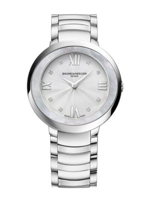 Promesse Stainless Steel Bracelet Watch