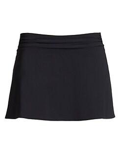 Karla Colletto Swim - Ruched Waistband Skirt