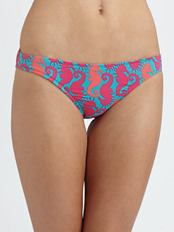 Lilly Pulitzer - Surf's Up Seahorse Bikini Bottom