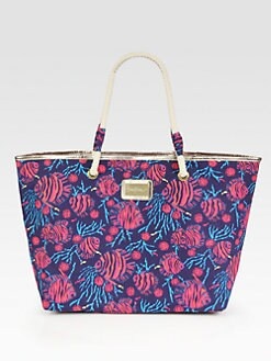Lilly Pulitzer - Tropical Fish Shoreline Tote
