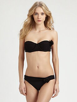 Luxe by Lisa Vogel - Tribute Bandeau Bikini Top