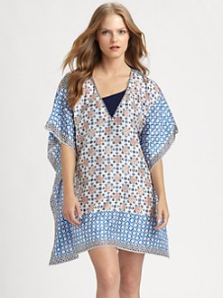 Tory Burch - Silk Eden Caftan