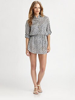 Tory Burch - Biarritz Belted Tunic