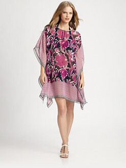 Tory Burch - Silk Majorca Short Caftan