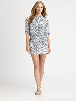 Tory Burch - Tamarin Belted Tunic