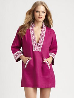Tory Burch - Linen Tory Tunic