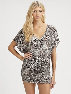 Carmen Marc Valvo - Snake-Print Tunic