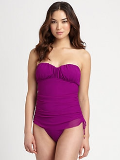 Spanx - One-Piece Sultry Sweetheart Ruched Swimsuit