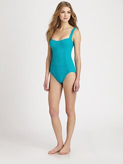 Karla Colletto Swim - One-Piece Underwire Swimsuit