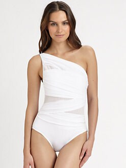 Miraclesuit Swim - One-Piece Jena One-Shoulder Swimsuit