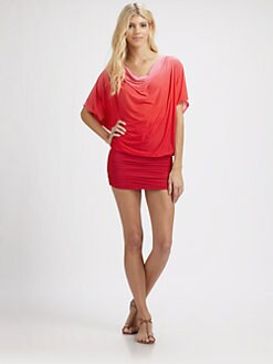 Carmen Marc Valvo - Ombre Cowlneck Tunic