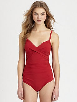 Karla Colletto Swim - One-Piece Molded Swimsuit