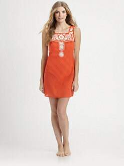 Tory Burch - Linen Amira Dress
