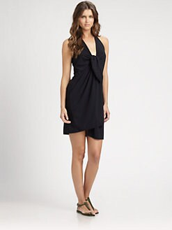 Lahco - Halter Wrap Dress