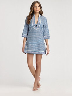 Tory Burch - Cotton Moray Tunic