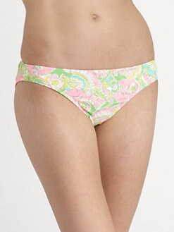 Lilly Pulitzer - Surf's Up Paisley Bikini Bottom