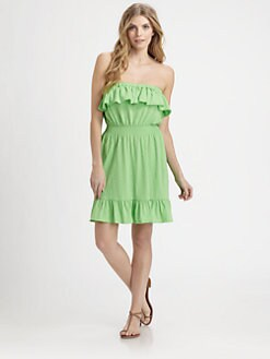 Lilly Pulitzer - Vinita Strapless Beach Dress