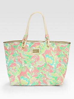 Lilly Pulitzer - Shoreline Tote/Pink Multi