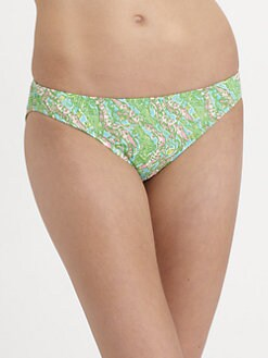 Lilly Pulitzer - Surf's Up Ripple Print Bikini Bottom