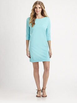 Lilly Pulitzer - Cassie Boatneck Cotton Dress