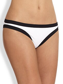 Karla Colletto Swim - Piped Hipster Bikini Bottom