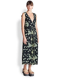 Marni - Sakura Print Dress