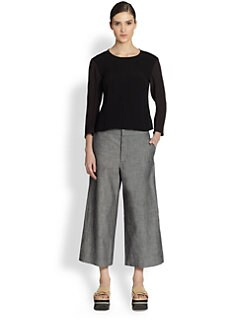 Marni - Envers Satin Crepe Top