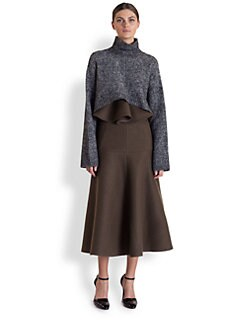 Marni - Melange Cape Sweater