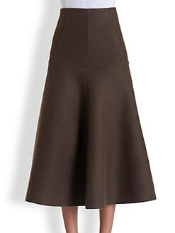 Marni - Washed Felt Skirt
