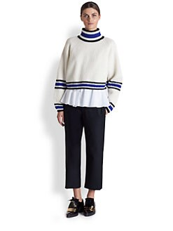 Marni - Cropped Turtleneck Sweater