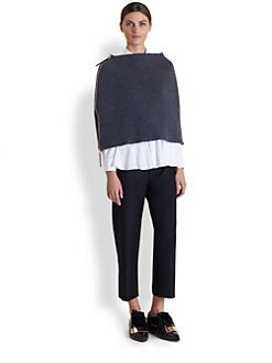Marni - Rib Knit Cape