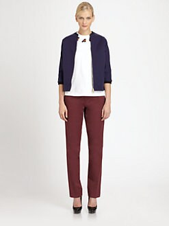 Marni - Cotton & Linen-Blend Jacket