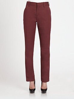 Marni - Cotton Straight-Leg Pants