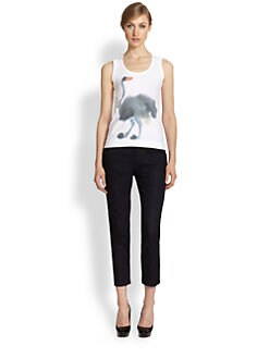 Marni - Printed Cotton Jersey Tank