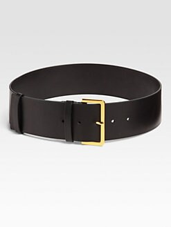 Marni - Wide Leather Belt
