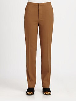 Marni - Stretch Gabardine Straight-Leg Pants