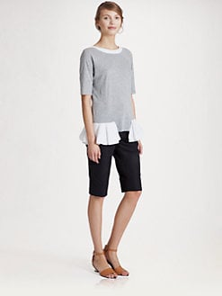 Marni - Jersey Peplum Top