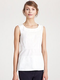 Marni - Sleeveless Poplin Blouse