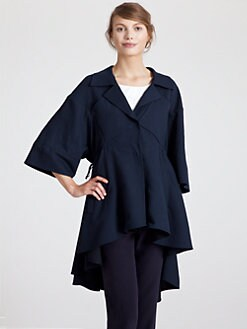 Marni - Long Crepe Coat