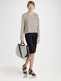 Marni - Printed Check Top