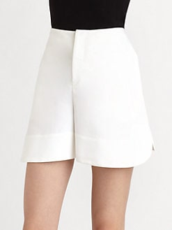 Marni - Cady Round-Edge Shorts