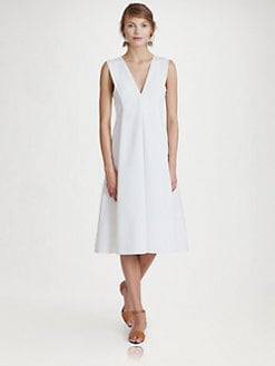 Marni - V-Neck Dress