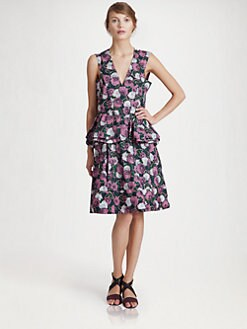 Marni - Floral Printed Dress