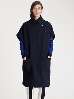 Marni - Wool Cape