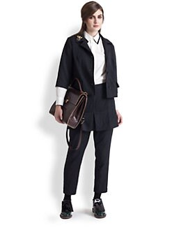 Marni - Tech Washed Satin Blazer