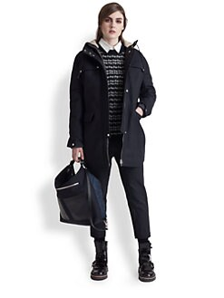 Marni - Wool & Cashmere-Blend Hooded Coat