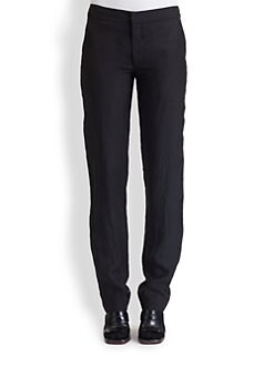 Marni - Washed Satin Straight-Leg Pants